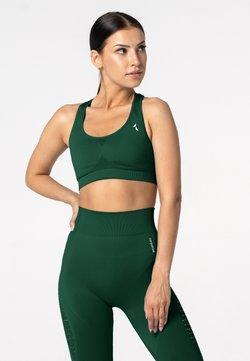carpatree - PHASE SEAMLESS - Sport BH - dark green