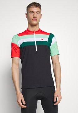 Ziener - NEPUMUK - T-Shirt print - black/fresh mint