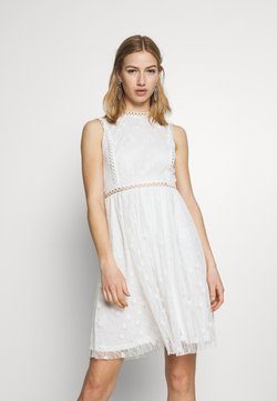 Vila - VILEE DRESS - Cocktail dress / Party dress - cloud dancer