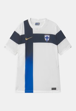 Nike Performance - FINLAND UNISEX - Pelipaita - white/truly gold