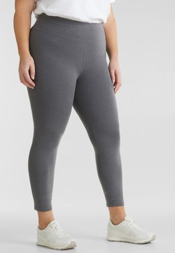 Esprit Sports - CURVY  - Tights - dark grey