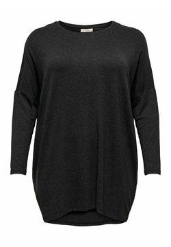 ONLY Carmakoma - CARCARMA LONG - Langarmshirt - dark grey melange