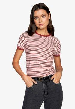 RVCA - T-Shirt print - dusty red