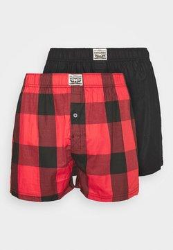 Levi's® - MEN PREMIUM CHECK 2 PACK - Boxershorts - red