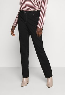 Zizzi - LONG EMILY - Relaxed fit jeans - black