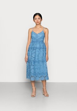 YAS Petite - YASFRIO STRAP MIDI DRESS - Cocktailkleid/festliches Kleid - blue heaven