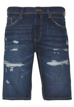 edc by Esprit - Jeansshort - blue dark wash