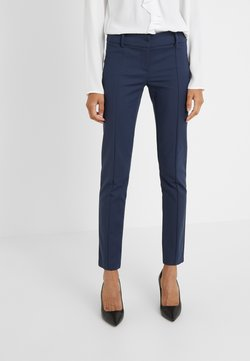 Patrizia Pepe - LOW FIT PANT - Stoffhose - navy