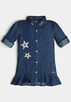 Guess - Vestido vaquero - blau