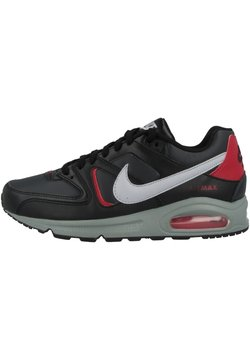 Nike Sportswear - AIR MAX COMMAND - Sneakers laag - black-wolf grey-anthracite-noble red-smoke grey