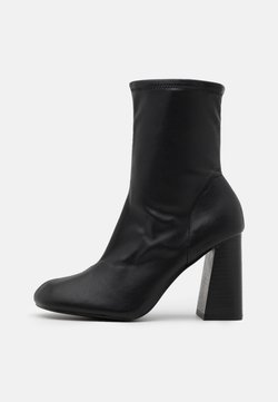 Topshop - BRODY STRETCH SOCK BOOT - Nilkkurit - black