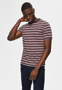 Selected Homme - Print T-shirt - sky captain