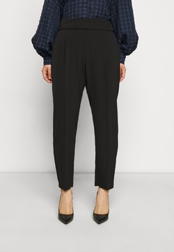 Wallis Petite - HENNA PULL ON - Pantalon classique - black