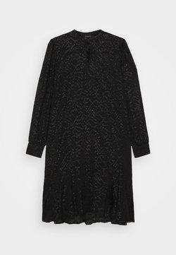 Bruuns Bazaar - ALEXANDRIA CAMARI DRESS - Vestido camisero - black