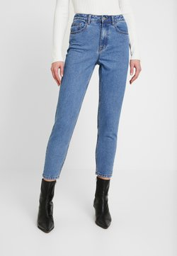 Object - OBJVINNIE MOM - Relaxed fit jeans - medium blue denim
