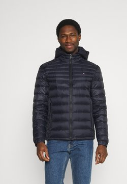 Tommy Hilfiger - PACKABLE HOODED JACKET - Daunenjacke - desert sky