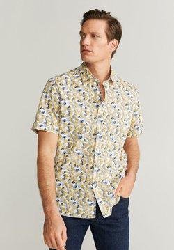 Mango - FLOWER-H - Shirt - white