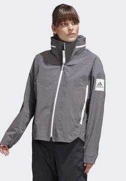 adidas Performance - MYSHELTER RAIN JACKET - Impermeabile - grey