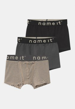 Name it - NKMBOXER 3 PACK - Shorty - asphalt