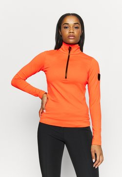 Toni Sailer - WIEKA - Fleecepullover - zesty orange