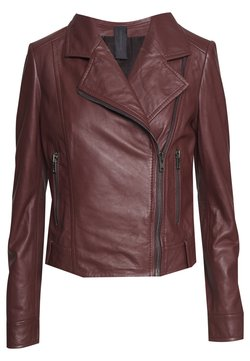 DRYKORN - PAISLY - Leather jacket - rot