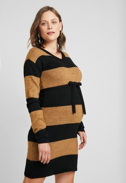 Supermom - DRESS BLOCK STRIPE - Etui-jurk - black