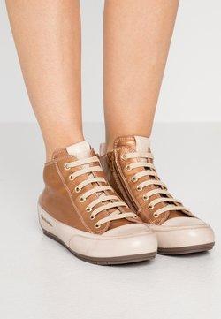 Candice Cooper - MID - Höga sneakers - brunette/sabbia