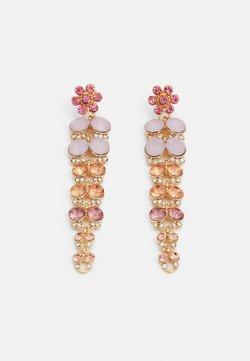 Pieces - PCGLITTIA EARRINGS - Earrings - gold-coloured/multi