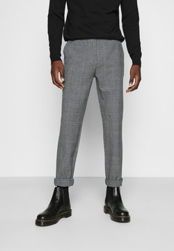 Nerve - NEPAOLO PANTS - Trousers - grey check