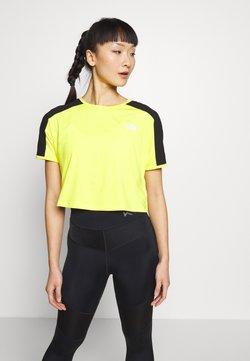 The North Face - W ACTIVE TRAIL - T-Shirt print - lemon