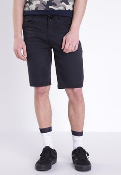 BONOBO Jeans - BERMUDA - Jeansshort - black denim