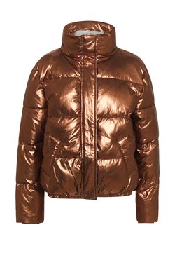 Scotch & Soda - PADDED METALLIC JACKET - Winterjacke - bronze