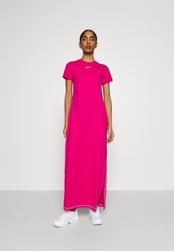 Nike Sportswear - DRESS - Vestido largo - fireberry/white