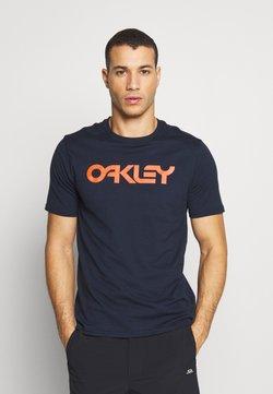 Oakley - MARK II TEE - T-Shirt print - dark blue