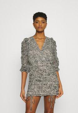 Gina Tricot - MICHELLE DRESS - Cocktailkleid/festliches Kleid - white spot