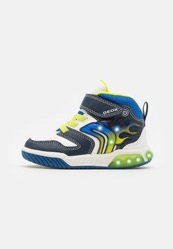 Geox - INEK BOY - Sneaker high - white/navy