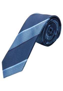 s.Oliver BLACK LABEL - Krawatte - dark blue stripes