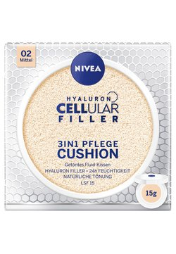 Nivea - HYALURON CELLULAR FILLER 3 IN 1 CARE CUSHION - Tonic - medium 02