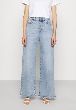 7 for all mankind - ZOEY LOOKER - Jeans a zampa - light blue