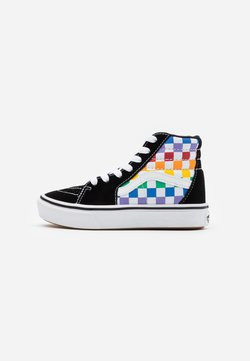 Vans - COMFYCUSH SK8 - Sneakers hoog - rainbow/true white