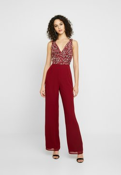 Lace & Beads - PICASSO - Jumpsuit - red