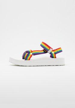 Teva - MIDFORM UNIVERSAL - Outdoorsandalen - rainbow/white