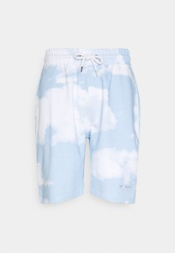 Mennace - SUNDAZE CLOUD REGULAR UNISEX - Shorts - blue