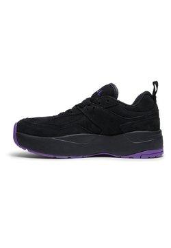 DC Shoes - E.TRIBEKA PLATFORM X X-GIRL  - Sneakers laag - black