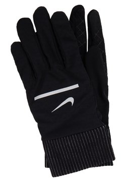 Nike Performance - SPHERE RUNNING GLOVES 2.0 - Fingervantar - black/silver
