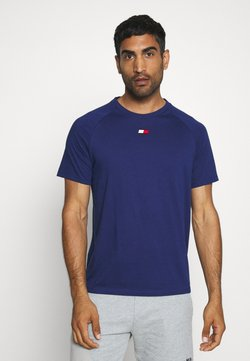 Tommy Hilfiger - CHEST LOGO - T-paita - blue