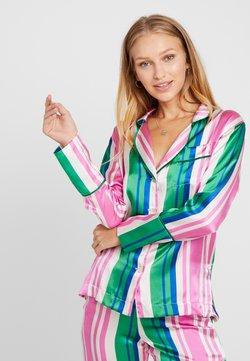 Hesper Fox - EVIE PRINT  - Pyjama top - pink/blue/white