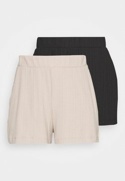 Monki - HADLEY  2 PACK - Jogginghose - black dark/mole dusty light