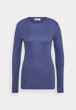 Moss Copenhagen - MONA - Pitkähihainen paita - gray blue