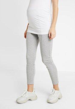 Gebe - TROUSERS GABRIELLA - Leggings - Trousers - grey melange
